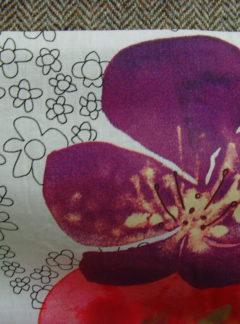 Floral Lovat Poplet