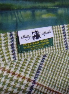 Green Islay Batik Poplet